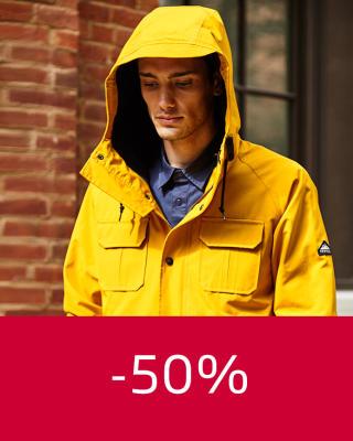 Penfield Takit vähintään -50%