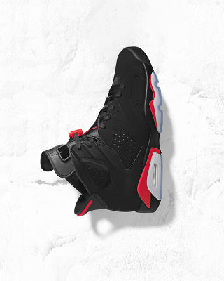 Air Jordan 6 Retro Infrared  Julkaistaan 16.02 00:01