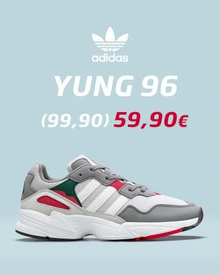 Kaikki adidas Yung 96 mallit -40%