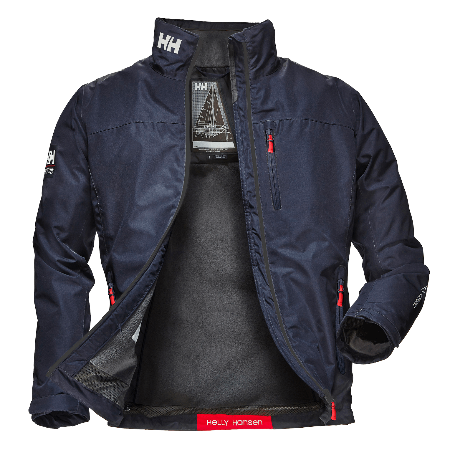 Helly Hansen Crew Midlayer Jacket M
