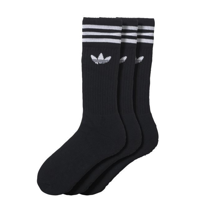 adidas Originals Solid Crew Sock 3par