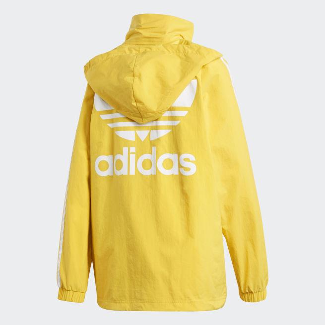 adidas Originals Stadium Jacket W Keltainen - CE560 - The Athlete s Foot e2868037d8