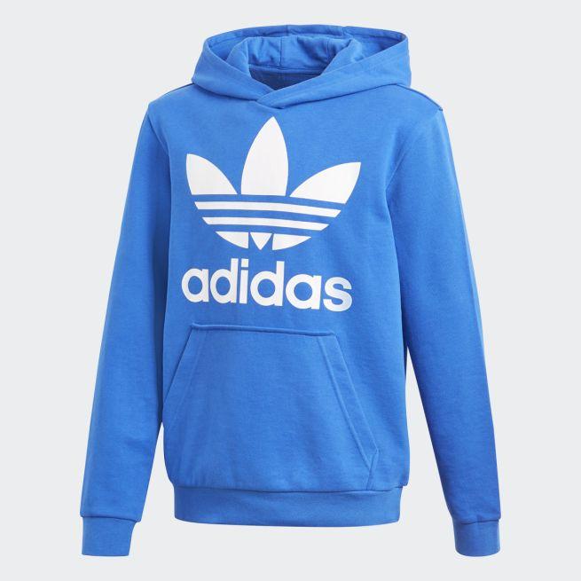 Sininen Adidas Trefoil huppari - The Athlete s Foot 9d7f9f8529