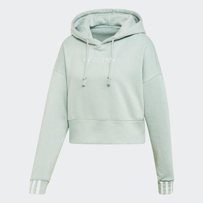 adidas Originals Coeeze Cropped Hoodie W Vihreä - FUB95 - The ... c41d00b78e