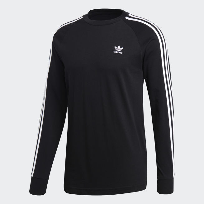 adidas Originals 3 Stripes Long Sleeve Tee