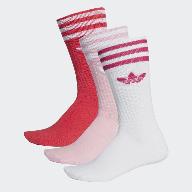 adidas Originals Solid Crew Sock 3par