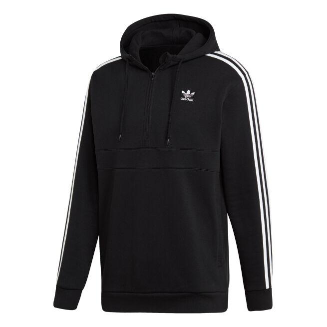 adidas Originals 3-Stripes Half-Zip Hoodie