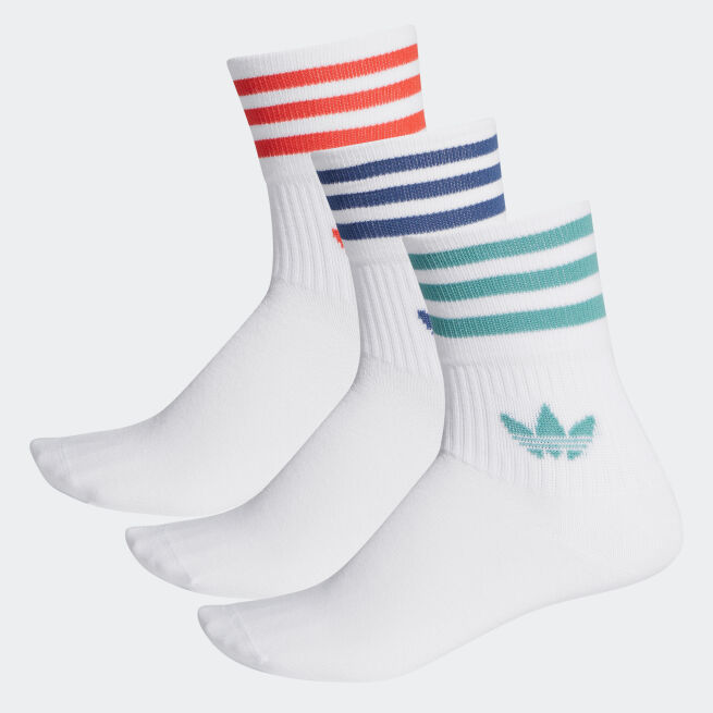 adidas Originals Mid-Cut Crew Socks 3par
