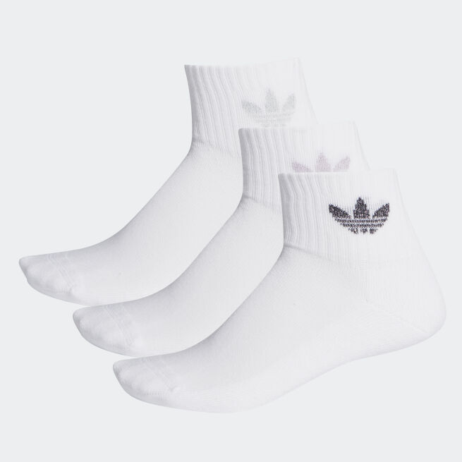 adidas Originals Mid-Cut Ankle Socks 3 paria