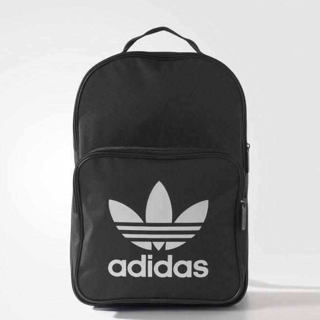 55a8ed14c6 adidas Originals Trefoil Classic Backpack Musta - NQB28 - The ...