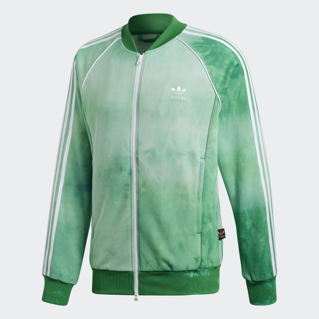 Vihreä Adidas HU Holi verkkatakki - The Athlete s Foot c28314b875