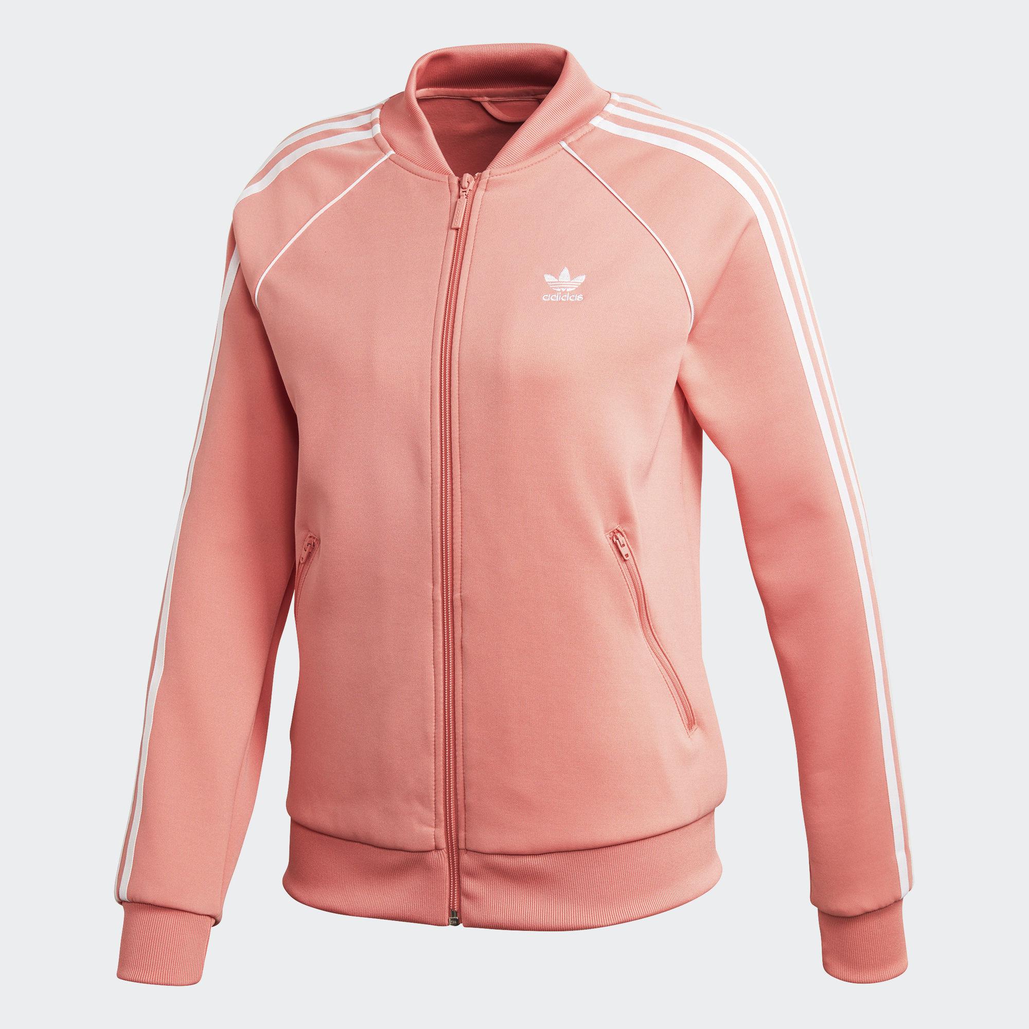 adidas Baseball Jacket Pink | adidas Finland