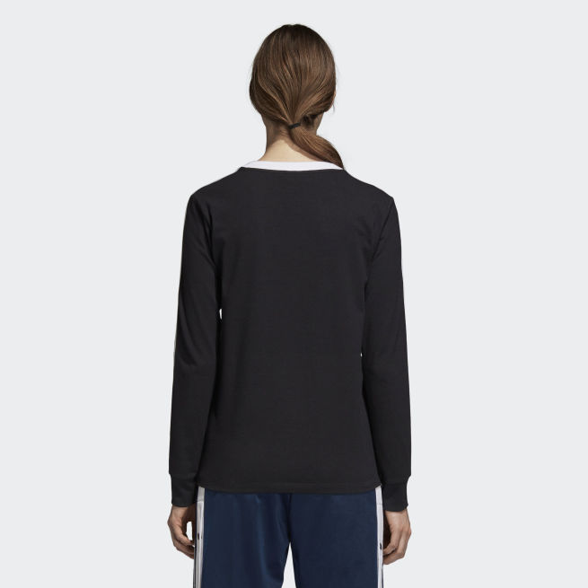 adidas Originals 3 Stripes long sleeve t-shirt