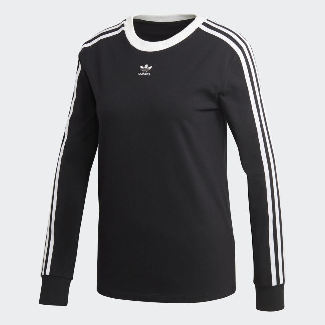 adidas Originals 3 Stripes long sleeve t-shirt