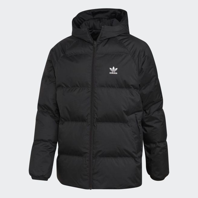 adidas Originals SST Down Hood Jacket Reversible