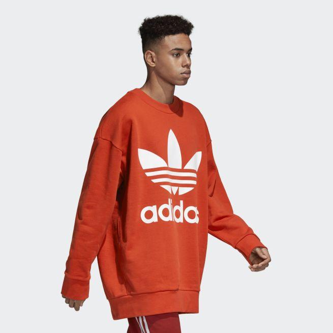 adidas Originals Trefoil Oversize Crew
