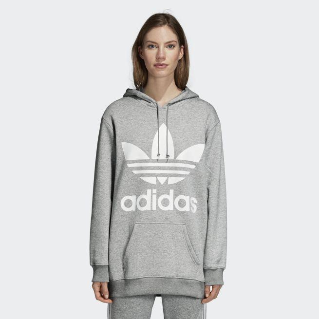 adidas Originals Boyfriend trefoil hoodie Harmaa - FIV46 - The ... d4c34f7a6e