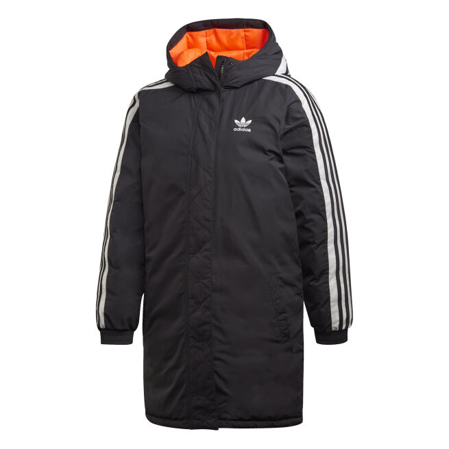adidas Originals Long Synthetic Down Jacket