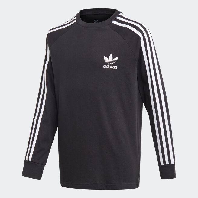 adidas Originals 3-Stripes Long Sleeve Tee Jr