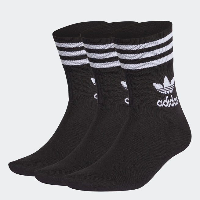 adidas Originals Mid-Cut Crew Sock 3-par