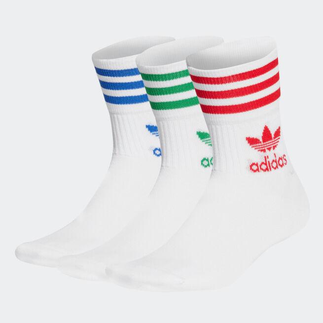 adidas Originals Mid Cut Crew Sock 3-pack
