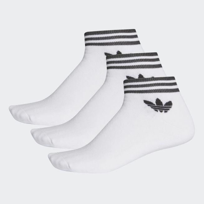 adidas Originals Trefoil Stripe Ankle Sock 3par