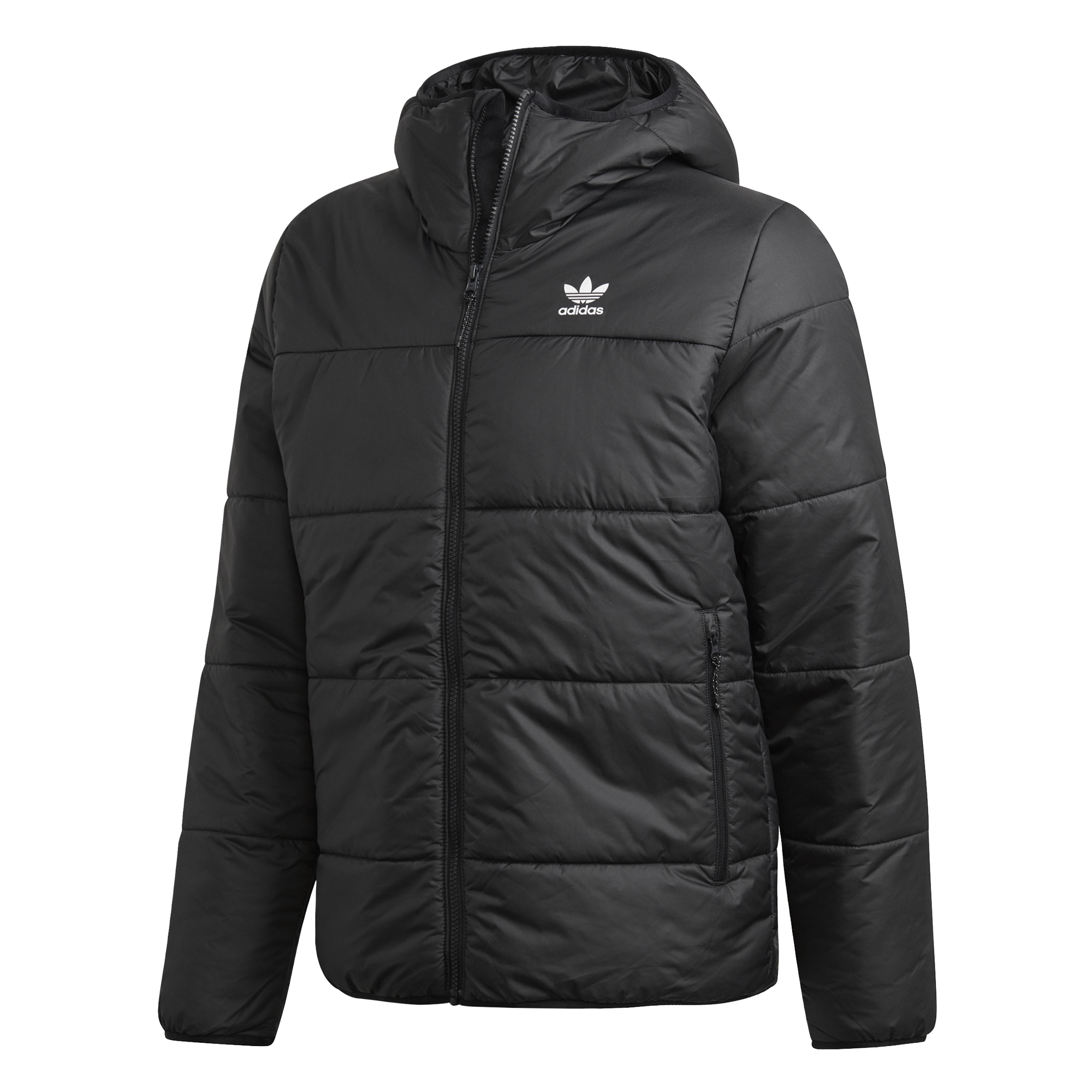 adidas Originals SST Down Hood Jacket Reversible Musta
