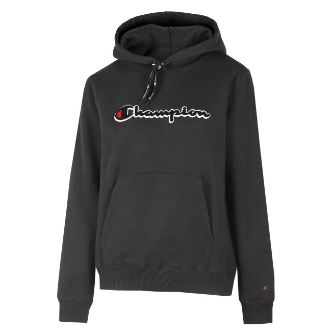 Champion Logo Hooded Sweatshirt W