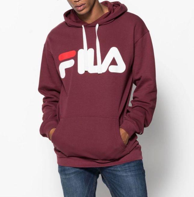 Fila Classic Logo Hooded Sweat