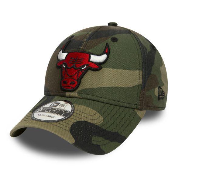 New Era Washed Camo 940 Chicago Bulls