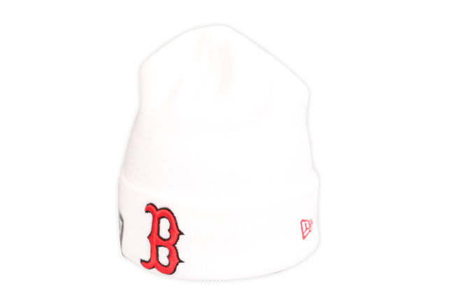 New Era Essential Cuff Knit Boston Red Sox