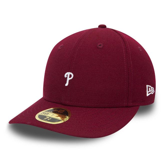 New Era Mini Logo Low Profile Philadelphia Phillies Punainen ... ead02d7619