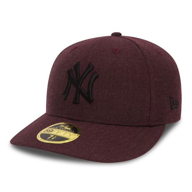 New Era Heather LP 59fifty New Yor Yankees