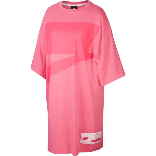 Nike Oversized Short-Sleeve Dress