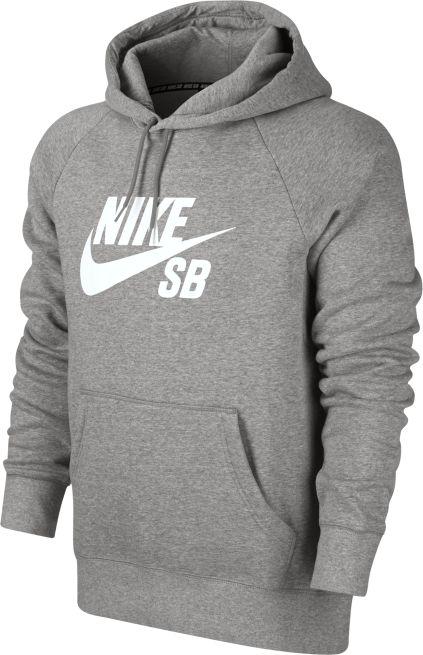 Nike SB Icon Hoodie Harmaa - 846886 - The Athlete s Foot c91155938c