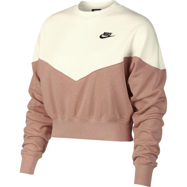 Nike Heritage Fleece Crew W