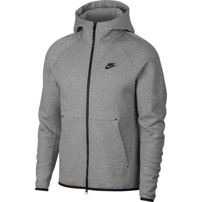 Nike Tech Fleece Hoodie FZ Harmaa - 928483 - The Athlete s Foot c0ea883ede