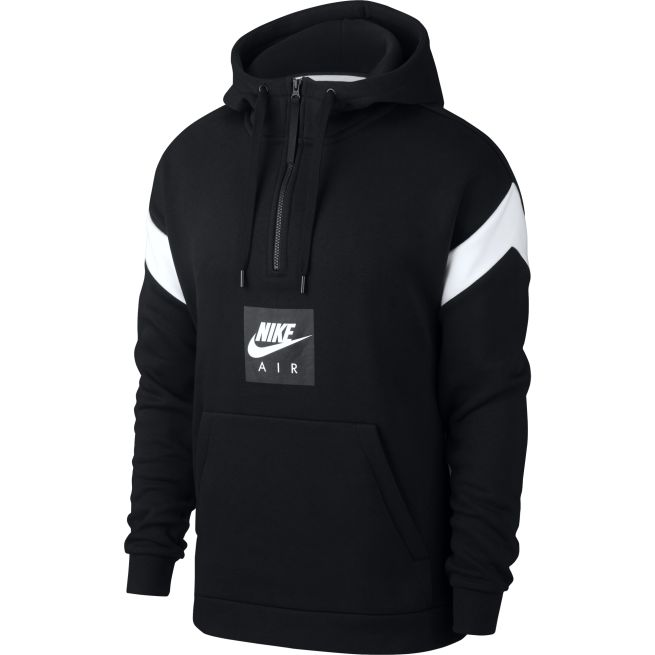 Nike Air Pullover Hoodie Musta - 930454 - The Athlete s Foot 7d42503d14