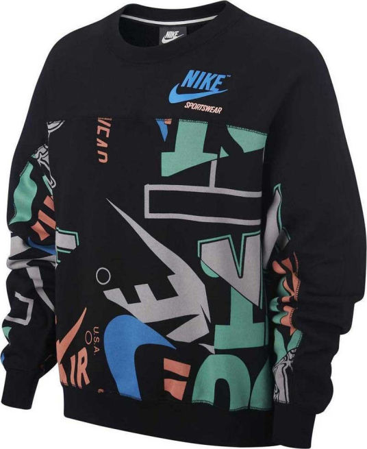 Nike Archive Crew Sweater AOP