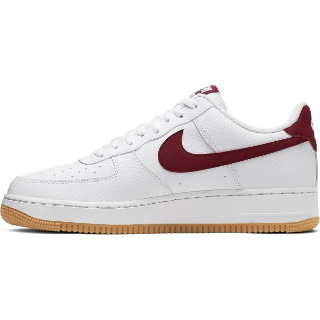 detailed images in stock special for shoe Nike Air Force 1 '07 Punainen - CI0057 - The Athlete's Foot