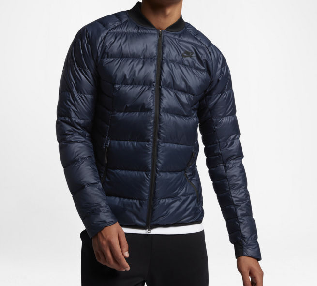 Nike Down Fill Bomber Guild M