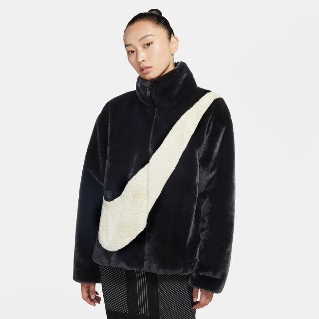 Nike Faux Fur Jacket W