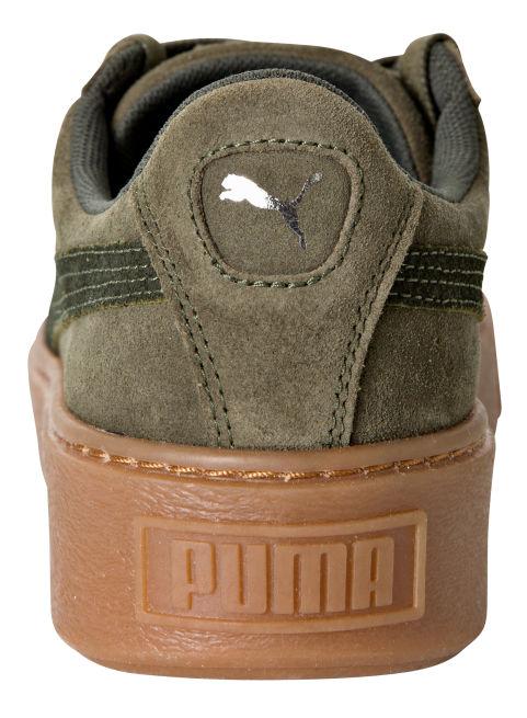 Puma Suede Platform Animal
