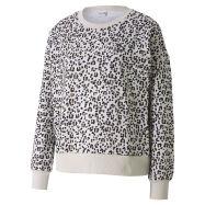 Puma Classic Graphic AOP Crew Sweater W