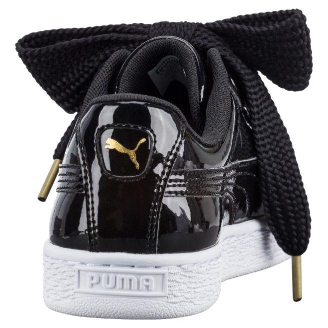 Puma Basket Heart Patent W