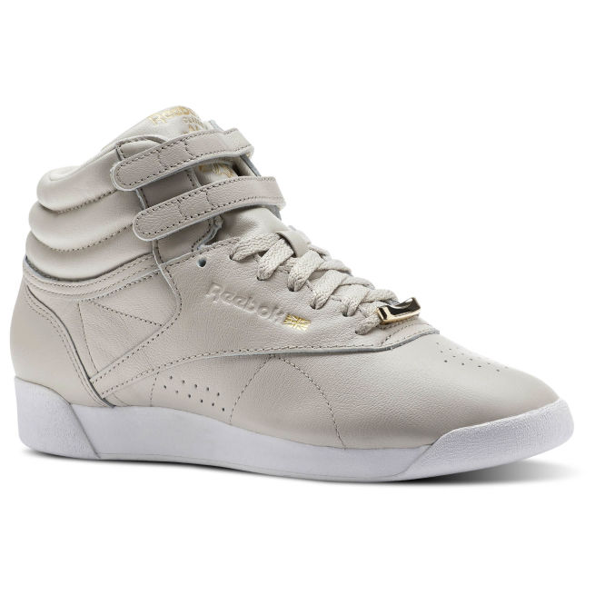 5b06f05c8 Reebok Freestyle Hi Muted Ruskea - CN1495 - The Athlete's Foot