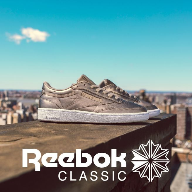 Reebok Club C 85 Melted W