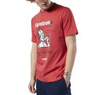 Reebok Classics International Pizza Tee