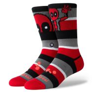 Stance Deadpool Stripe