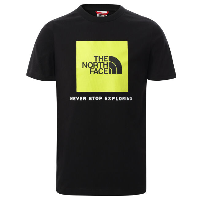 The North Face Box Logo S/S Tee Youth